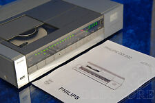 ►PHILIPS CD 202◄ LETTORE CD PLAYER CDM0 2x TDA1540D VINTAGE RESTORED 1983 !!!
