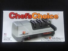 Chef's Choice 15 Trizor XV EdgeSelect Electric Knife Sharpener New