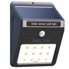Lampada ad Energia Solare da Esterno Impermeabile con Sensore di Movimento 12LED