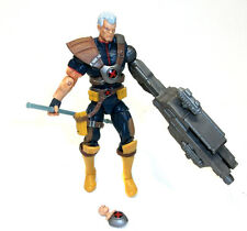 "Marvel Comics Universe  X Men CABLE 3.75"" figure with GUN & chestpiece VERY RARE"