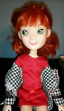 """Tonner 15"""" LittleMissMatched Doll Jointed Red Hair - Uptown Girl w extra dresses"""