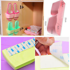 Affordable Creative Bathroom Shoes Storage Shelf Suction Wall Shoes Organizers