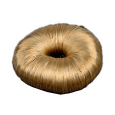 Blonde Hairdressing Hair Donut Ring Bun shaper Styler A+ B4M7