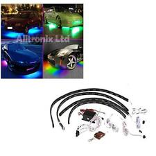 Universal Multi Coloured Under Car Neon LED Light Kit Inc 4 Strips - Vauxhall