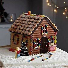 3D House Door DIY Silicone Fondant Mould Cake Decoration Chocolate Cutter Molds