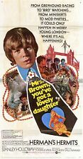 Herman's Hermits US 3-sheet poster Mrs. Brown You've Got a Lovely Daughter