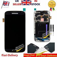 For Samsung Galaxy S4 i9505 i9508 LCD Display Digitizer Touch Screen Frame Black