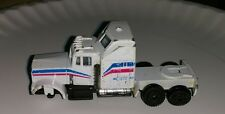 Vintage Unknown Diecast Toy Car truck white distressed collectible vehicle old