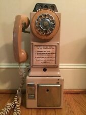 PINK Automatic Electric Co Vintage Tri-Slot Pay Phone LPB - 82 - 55 Rare