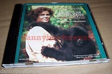 Gorillas In The Mist Adventure of Dian Fossey CD Soundtrack Maurice Jarre