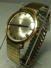 Vintage Waltham Men 17 Jewels Watch Hour~Runs~Keeps Time