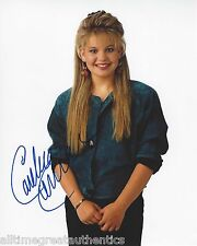 CANDACE CAMERON BURE SIGNED FULL HOUSE 8X10 PHOTO A W/COA DJ TANNER THE VIEW