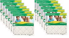 """(12) FLANDERS NATURALAIRE 84858.011625 16"""" X 25"""" X 1"""" FURNACE AIR FILTERS"""