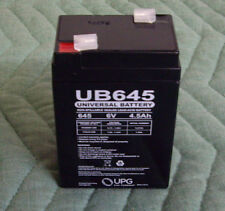 UB645 Sealed Lead Acid Battery 6V 4.5ah 6 Volt Mojo Game Feeder Deer Lighting