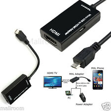 Micro USB to HDMI 1080P MHL2.0 HDTV Kable Adapter for Samsung Galaxy S6 S5 Note7