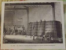 XIXème Le Cellier de Vendange du Clos-Vougeot & L'ancien Pressoir Bourguignon