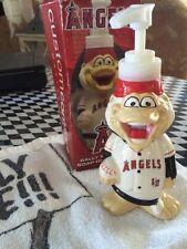 NIB Angels Baseball Authentic Angels RALLY MONKEY Towel & Soap Dispenser *cutest