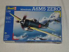 Revell Mitsubishi A6M5 Zero 1/32 WWII Japanese Fighter Airplane Model Kit #4755