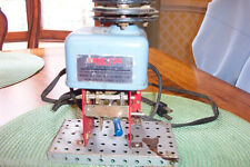 Vintage Erector A-47 Electric Motor with gear box