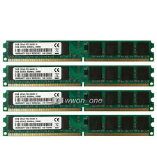 New 8GB 4x2GB PC2-6400 DDR2-800MHZ 240pin Desktop Memory For AMD CPU Motherboard