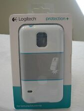 * NEW IN BOX* Logitech Protection + Plus Case for Samsung Galaxy S5 - WHITE