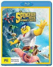 The Spongebob Movie : Sponge Out Of Water : NEW Blu-Ray