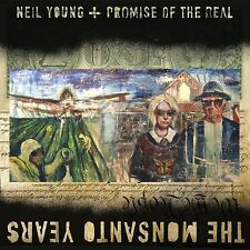 NEIL YOUNG / PROMISE OF THE REAL : THE MONSANTO YEARS (Double  LP Vinyl) sealed