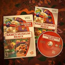 EXC Namco Museum Remix 14-in-1 COMPLETE TESTED Nintendo Wii/U CIB Pac-Man