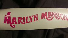 1995 Marilyn Manson Smells Like Children Wonka Decal 7.5""