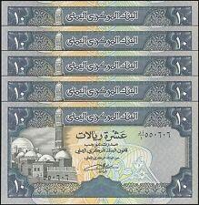 TWN - YEMEN ARAB REPUBLIC 24 - 10 R. 1992 UNC Dealers x 5