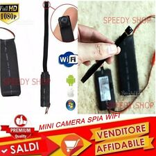 MINI TELECAMERA WIFI da sorveglianza MINI CAMERA  WIRELESS SPY IP P2P