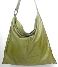 HOBO INTERNATIONAL big LEATHER tote bag HANDBAG purse AVOCADO green