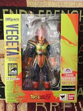 SDCC SH Figuarts Vegeta Comic Con Exclusive 2014 Dragon Ball Z