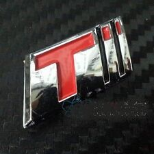 Car Chrome Badge Emblem 'T' for CRUZE Turbo Sport 3D Logo