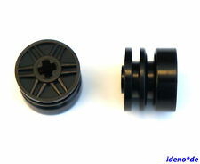 Lego Technology Technic 2 x Rim D 18 x 14 mm black 55982 9396 New