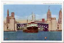 1920 Postcard SS Chicago Tribune Steamship WWII WW2 Sunk 1940 Illinois Unposted