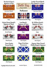 15mm English Civil War Flags by Battle Flag