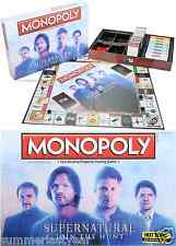 Monopoly Supernatural Board Game Hot Topic Exclusive Pre-Release Free Shipping