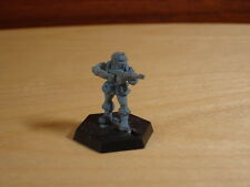 Doctor Dr Who UNIT Soldier with Gun Raised, Metal Miniature, Citadel RPG