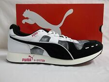 Puma Size 12 M RS100DD Athletic Sneakers Black White New Mens Shoes