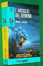 Librogame serie Blood Sword n.3 L'Artiglio del Demone di Morris-Jonhson del 1992