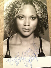 6x4 Hand Signed Photo of Angela Griffin Coronation Street Waterloo Road