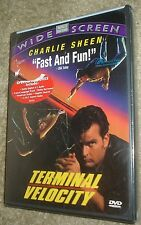 Terminal Velocity (DVD, 2002), NEW & SEALED, REGION 1,WIDESCREEN, CHARLIE SHEEN