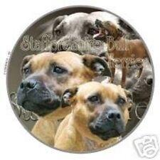 Design Aufkleber Staffordshire Bullterrier 1 Bull Terrier 15cm Autoaufkleber