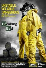 Breaking Bad poster print - Bryan Cranston : 11 x 17 inches. UVD