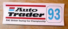 1993 Auto Trader RAC British Touring Car Racing Motorsport Sticker Decal