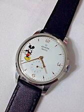 VINTAGE ZENITH SPORTO MICKEY MOUSE  DIAL  MANUAL WIND MAN   WATCH