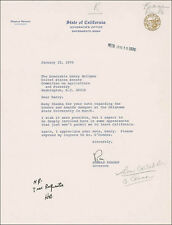 RONALD REAGAN - TYPED LETTER SIGNED