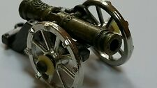 VINTAGE TOY CANNON METAL GUN Artillery FIELD WEPON ART DECO MINIATURE VERY SMAL