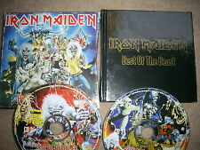 Iron Maiden - Best of the Beast - limited edition 2xCD & book